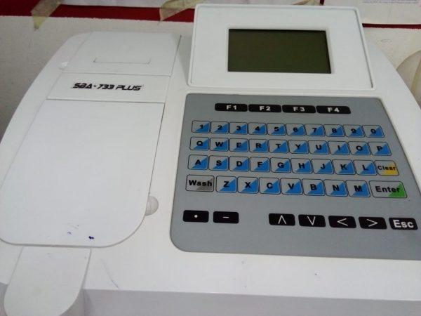 جهاز تحليل كيمياء الدم 14 chemistry analyser