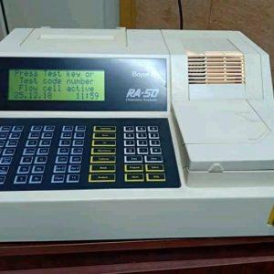 جهاز كيمياء الدم مستعمل 1 ra50 chemistry analyser