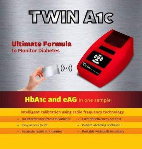 اجهزة تحاليل الهيموجلوبين السكري diabetic hemoglobin