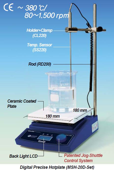 DAIHAN-brand® Digital Hotplate Stirrer MSH-30D